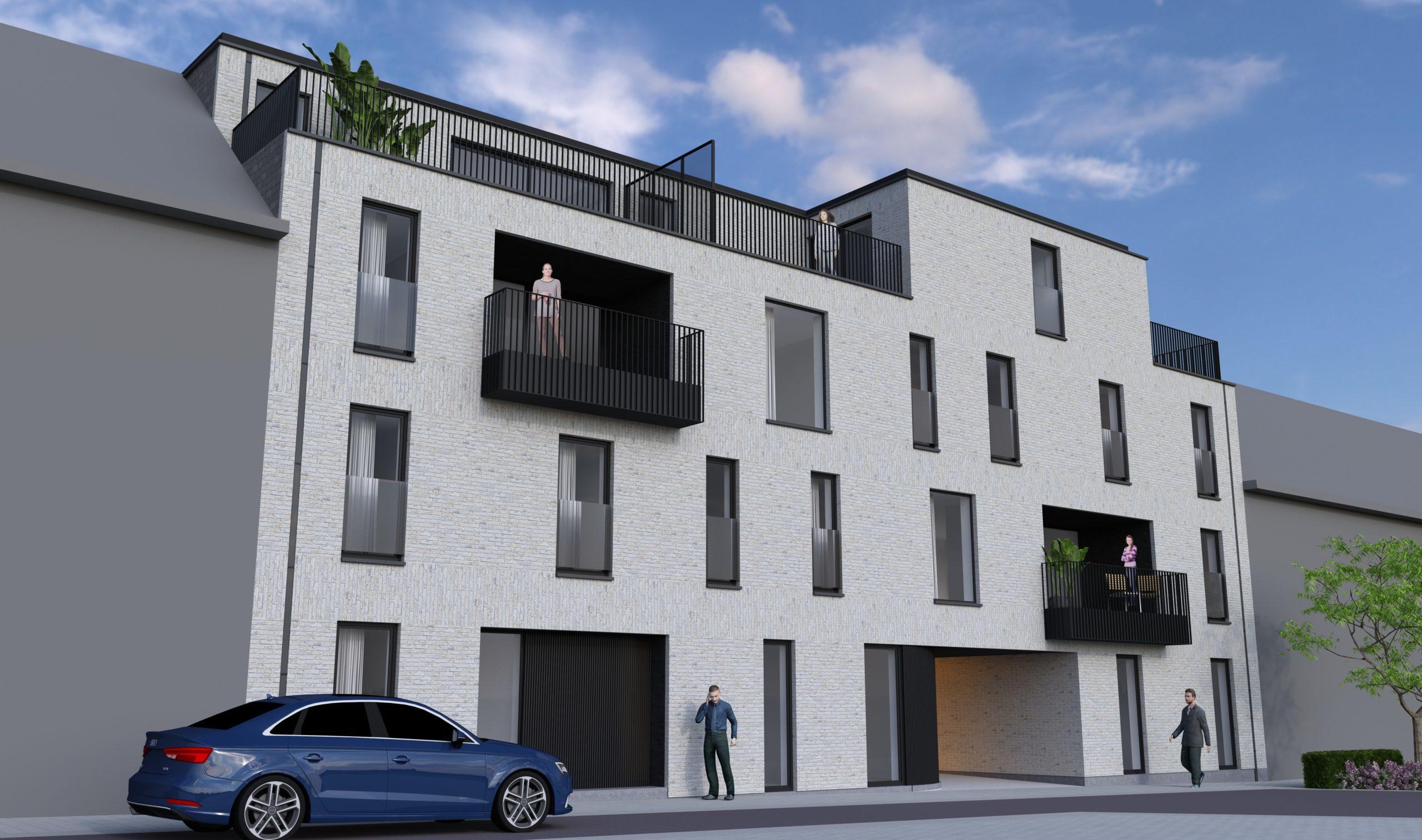 Nieuwbouwproject appartementen Nieuwstraat Lede